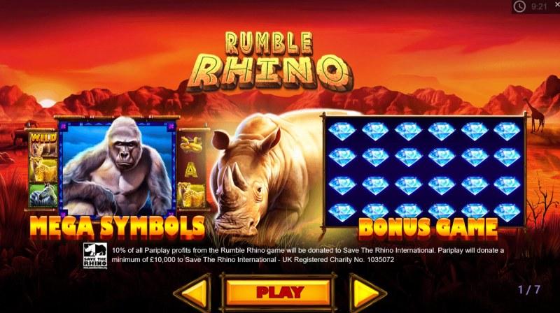 Rumble Rhino :: Feature Rules