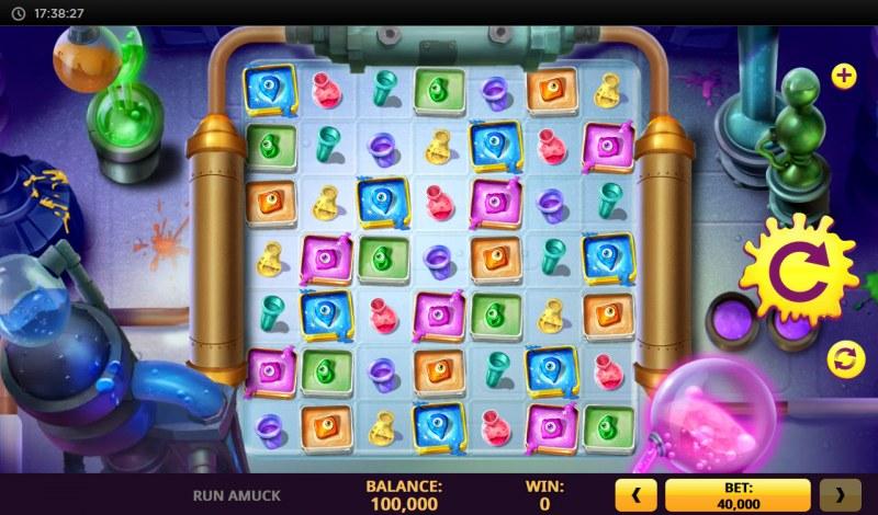 Run Amuck Rackin Up Riches :: Main Game Board