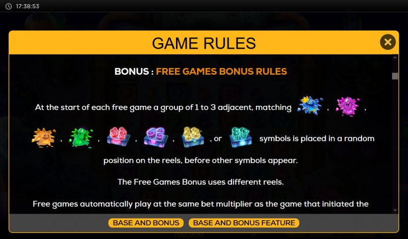 Run Amuck Rackin Up Riches :: Free Game Rules