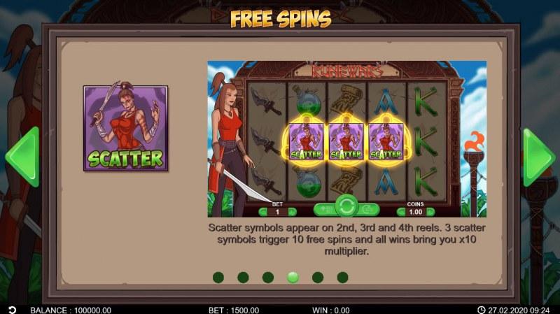 Runewars :: Free Spins Rules