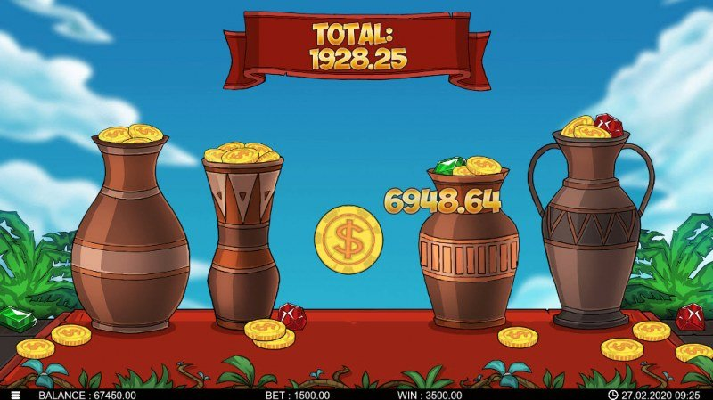 Runewars :: Pick a vase and reveal a prize