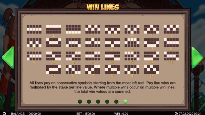 Runewars :: Paylines 1-30