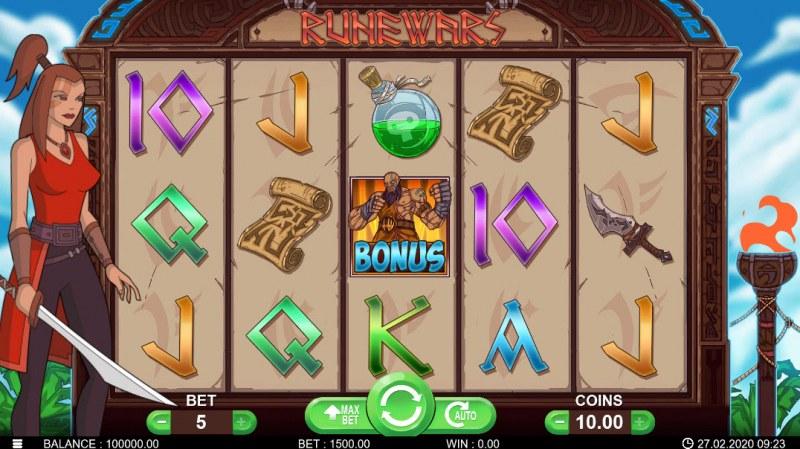 Runewars :: Main Game Board