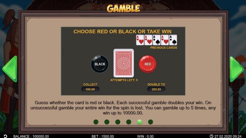 Runewars :: Gamble Feature Rules
