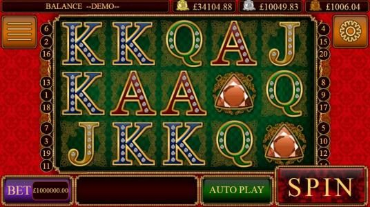 My Touch featuring the Video Slots Rubbies and Sapphires with a maximum payout of Jackpot
