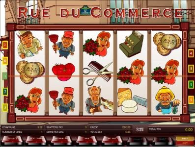 Long Harbour featuring the Video Slots Rue du Commerce with a maximum payout of $1,250
