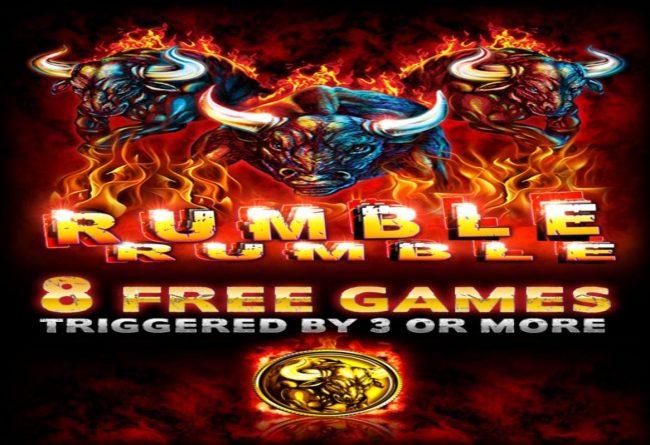 Rumble Rumble :: Splash screen - game loading