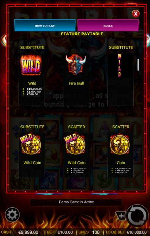 Rumble Rumble :: Free Spins - High Value Symbols