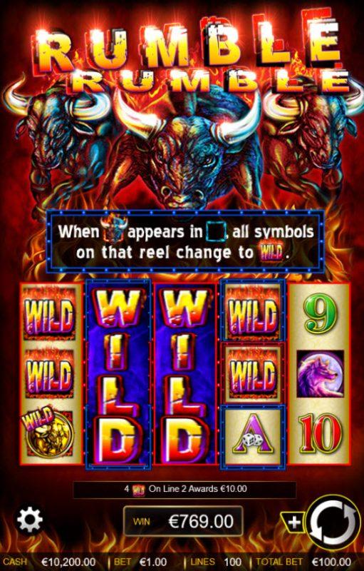 Rumble Rumble :: Big Win