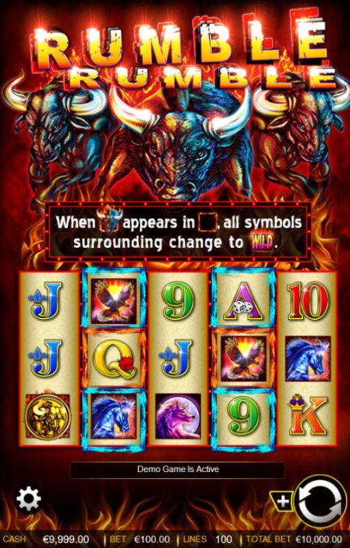 Rumble Rumble :: Main Game Board