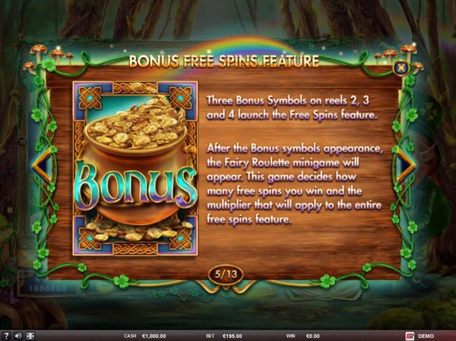 Play slots at betmaster: betmaster featuring the Video Slots Ryan o Bryan and the Celtic Fairies with a maximum payout of $180,000