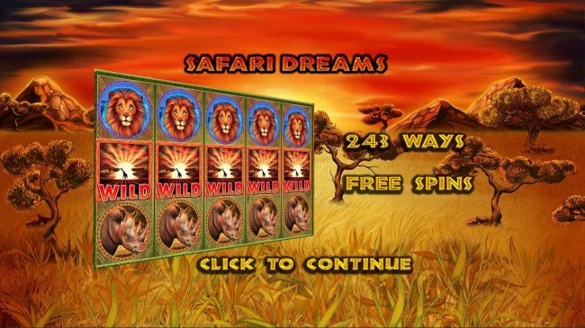 Play slots at 1X Slots: 1X Slots featuring the Video Slots Safari Dreams with a maximum payout of $2,000