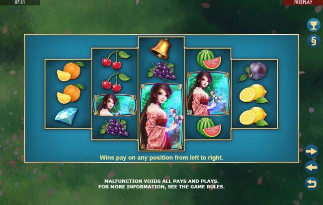 Sakura Fruits :: How To Play