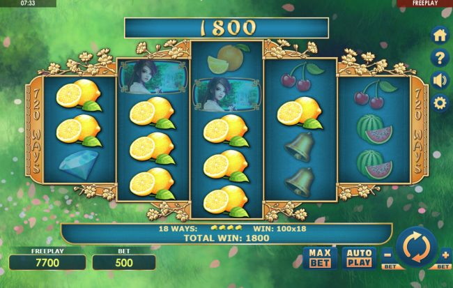 Sakura Fruits :: Big Win