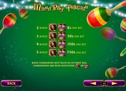 Mr Play featuring the Video Slots Samba Brazil with a maximum payout of $250,000