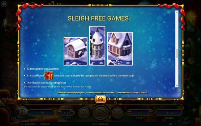 Buran featuring the Video Slots Santa's Village with a maximum payout of $150,000