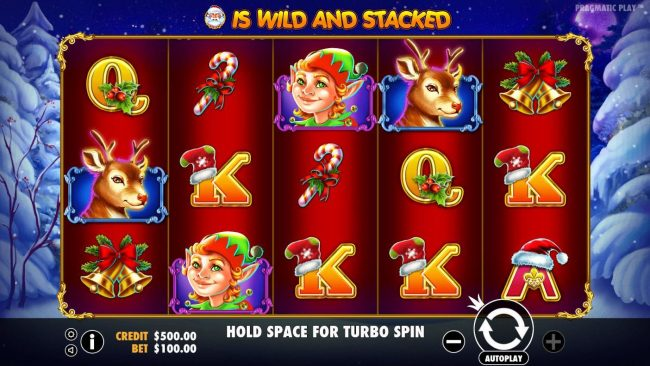 Casino States featuring the Video Slots Santa with a maximum payout of $40,000
