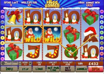 African Palace featuring the Video Slots Santa Surprise with a maximum payout of $500,000