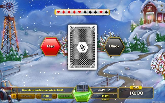 All Wins Casino featuring the Video Slots Santa's Farm with a maximum payout of $900