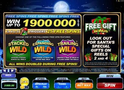Win up to 1900000.00