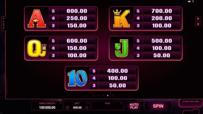 Casino Mate featuring the Video Slots Star Dust with a maximum payout of $400,000