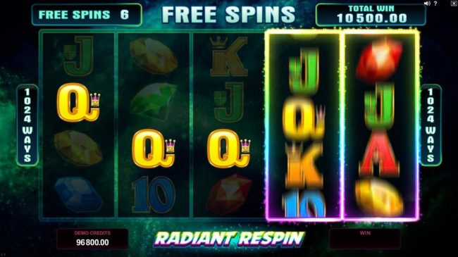Mr Play featuring the Video Slots Star Dust with a maximum payout of $400,000