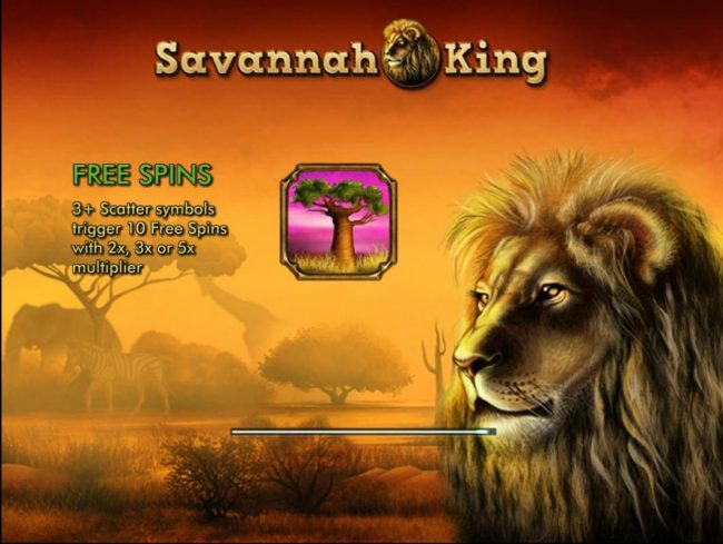 Play slots at Goodwin Casino: Goodwin Casino featuring the Video Slots Savannah King with a maximum payout of $250,000
