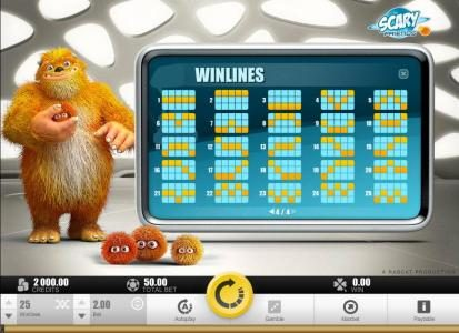 Caribic featuring the Video Slots Scary Friends with a maximum payout of $40,000
