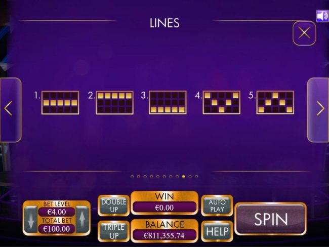 Thrills featuring the Video Slots Schlagermillions with a maximum payout of $4,000
