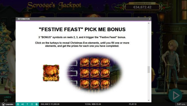 Casino Superlines featuring the Video Slots Scrooge's Jackpot with a maximum payout of $500,000