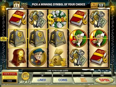 Dasistcasino featuring the Video Slots Scrooge with a maximum payout of $30,000