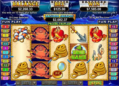 Play slots at Winners Playground: Winners Playground featuring the Video Slots Sea Captain with a maximum payout of $250,000