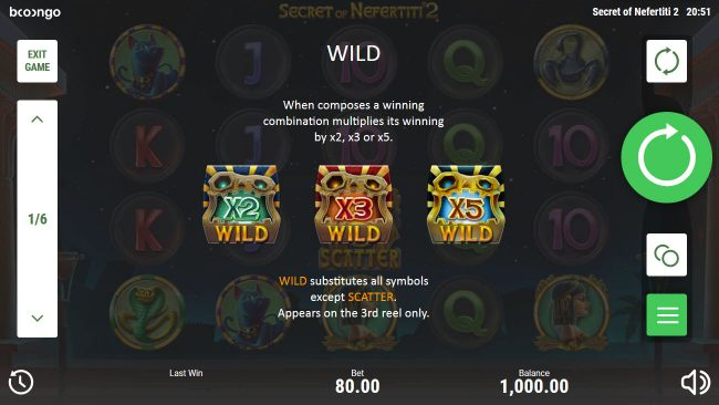 Napoli featuring the Video Slots Secret of Nefertiti 2 with a maximum payout of $200,000