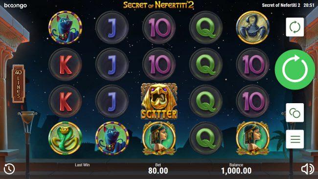 Secret of Nefertiti 2 :: Main Game Board