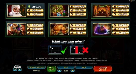 Mummys Gold featuring the Video Slots Secret Santa with a maximum payout of $82,500