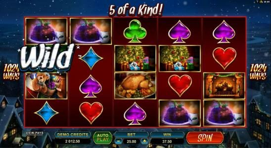 Play slots at Wild Jack: Wild Jack featuring the Video Slots Secret Santa with a maximum payout of $82,500
