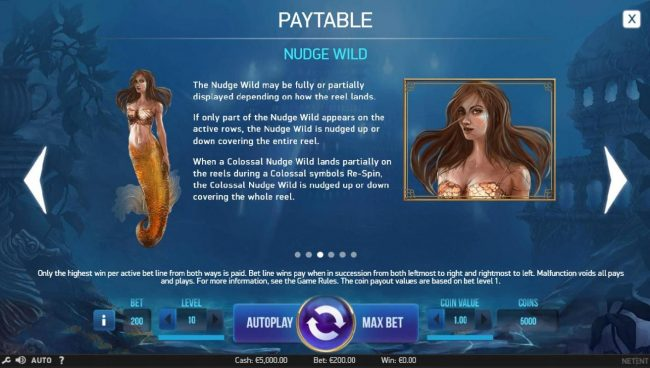 Slotty Vegas featuring the Video Slots Secrets of Atlantis with a maximum payout of $1,600,000