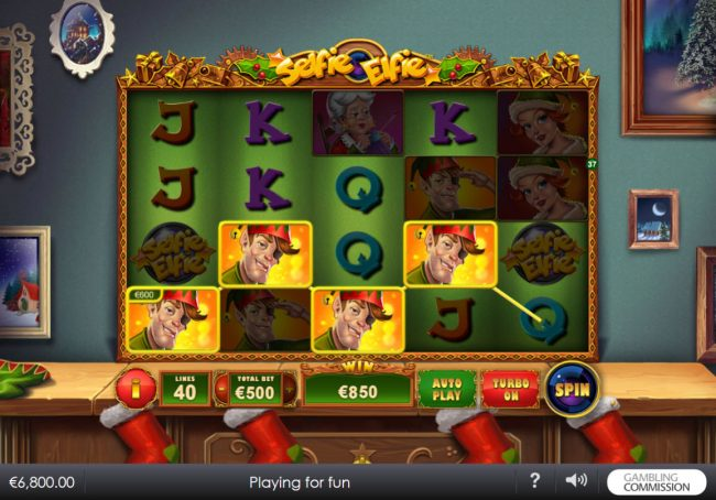 Play slots at Circus Casino: Circus Casino featuring the Video Slots Selfie Elfie with a maximum payout of $200,000