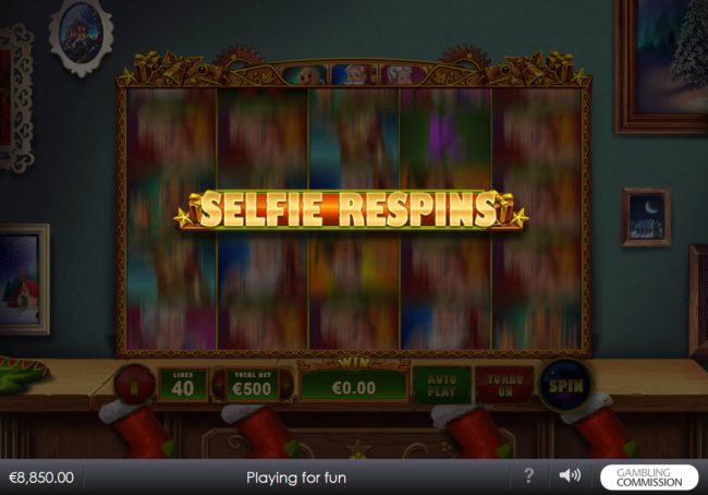 Vernons featuring the Video Slots Selfie Elfie with a maximum payout of $200,000