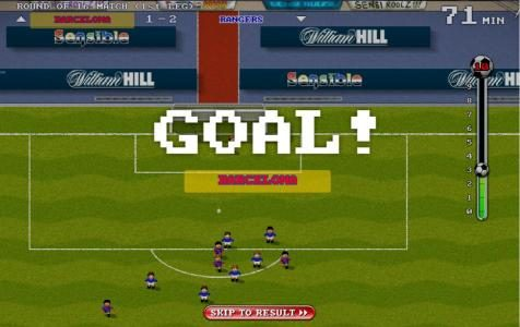 Slots Heaven featuring the Video Slots Sensible Soccer Euro Cup Slot with a maximum payout of $100,000