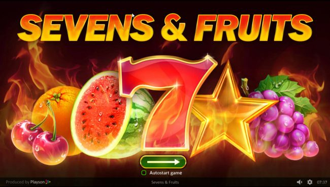 Sevens & Fruits :: Introduction