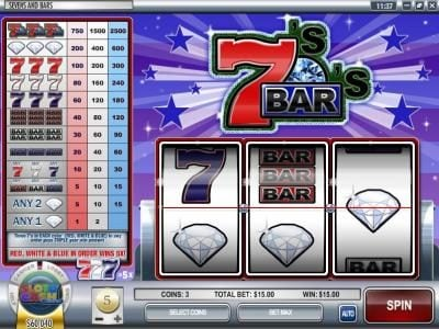 Play slots at This Is Vegas: This Is Vegas featuring the Video Slots Sevens and Bars with a maximum payout of $75,000