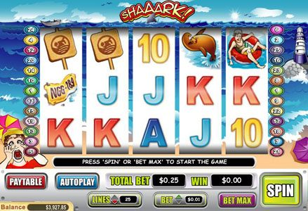 Play slots at Lincoln: Lincoln featuring the Video Slots Shaaark! with a maximum payout of $40,000