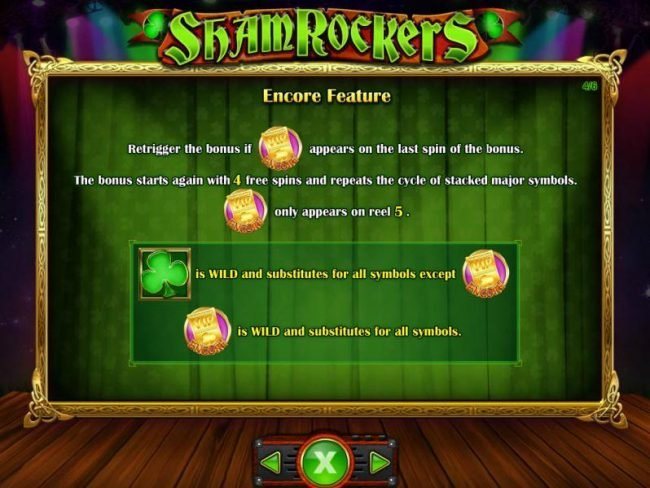 Play slots at Slots Angel: Slots Angel featuring the Video Slots Shamrockers Eire To Rock with a maximum payout of $250,000