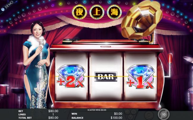 Vera&John featuring the Video Slots Shanghai Night with a maximum payout of $40,000