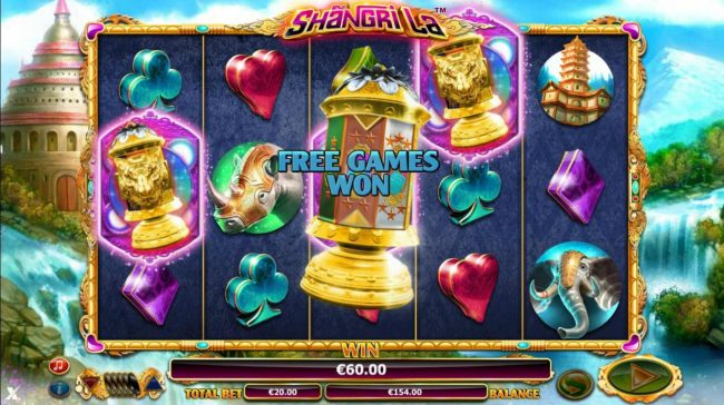 Casino Luck featuring the Video Slots Shangri La with a maximum payout of $30,000
