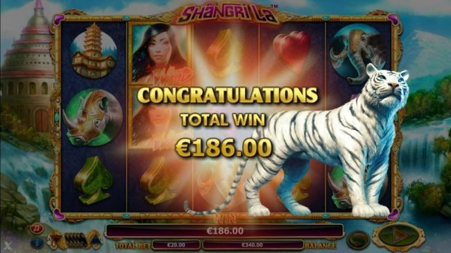 The Free Games bonus feature pays out  a total of 186.00.
