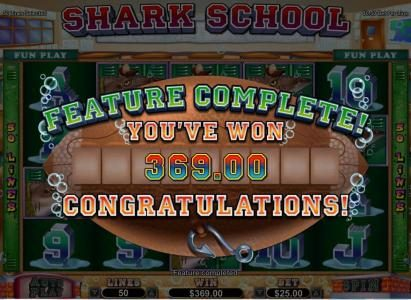 Casino Extreme featuring the Video Slots Shark School with a maximum payout of $7,500