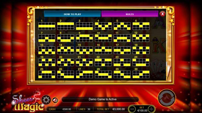 Play slots at Boaboa: Boaboa featuring the Video Slots Sheer Magic with a maximum payout of $100,000