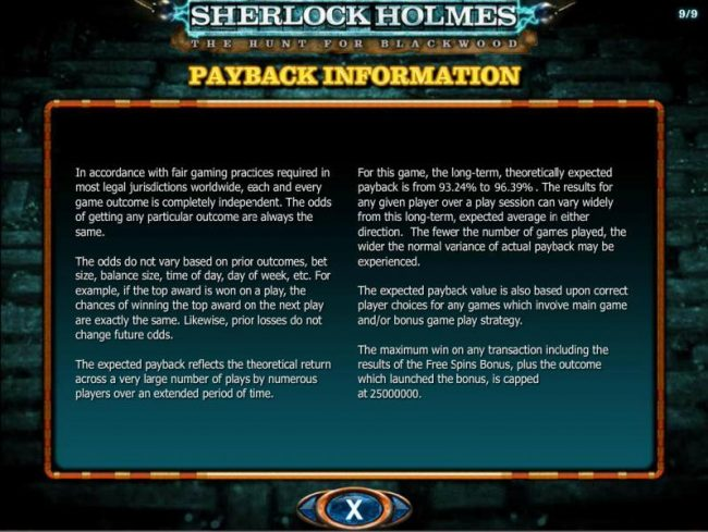 888 Casino featuring the Video Slots Sherlock Holmes The Hunt for Blackwood with a maximum payout of $250,000